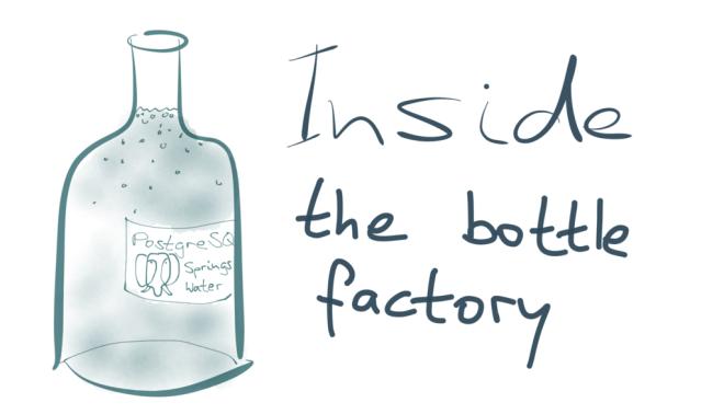 Inside the bottle factory
